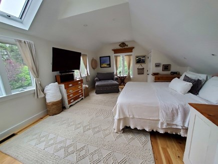 Eastham Cape Cod vacation rental - Another view of the master bedroom