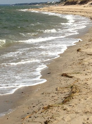 Eastham Cape Cod vacation rental - Walking from First Encounter Beach