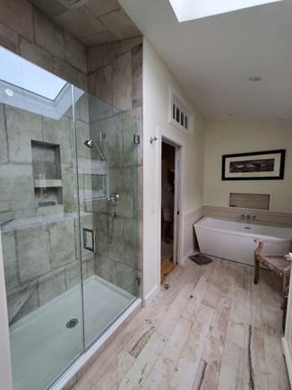 Eastham Cape Cod vacation rental - Master bath with soaking tub