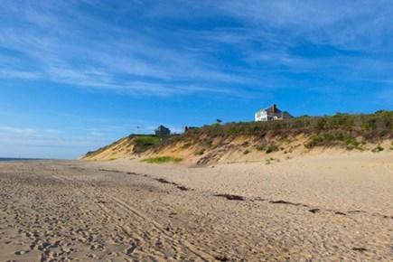 Wellfleet, Beach House Cape Cod vacation rental - House from beach