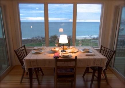 Wellfleet, Beach House Cape Cod vacation rental - Dining area