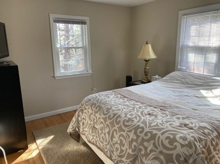 East Dennis Cape Cod vacation rental - Bedroom #2 Master Bedroom with pond views