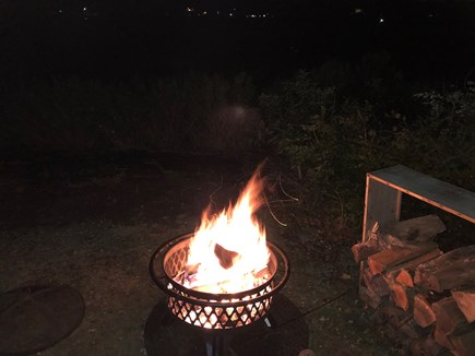 West Yarmouth Cape Cod vacation rental - Firewood supplied by owner