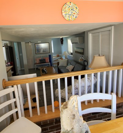West Dennis Cape Cod vacation rental - View from the entry space into the living area
