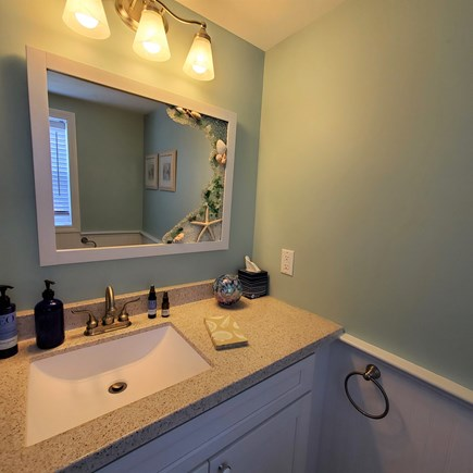 West Dennis Cape Cod vacation rental - Half bath on the first floor