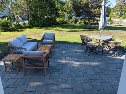 Dennis - Bayview Beach  Cape Cod vacation rental - 16x20 stone patio with new gas grill