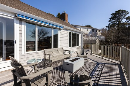 Chatham Cape Cod vacation rental - Back deck, facing house