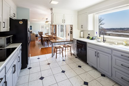 Chatham Cape Cod vacation rental - Kitchen looking on to the dining area