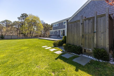 Chatham Cape Cod vacation rental - Back yard- out door shower