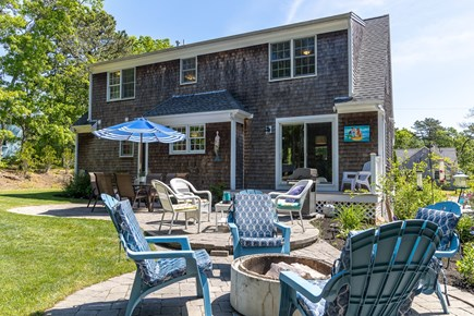 Dennis Cape Cod vacation rental - Relaxing backard
