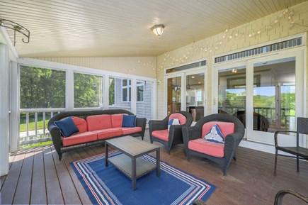 Barnstable Cape Cod vacation rental - Screened porch