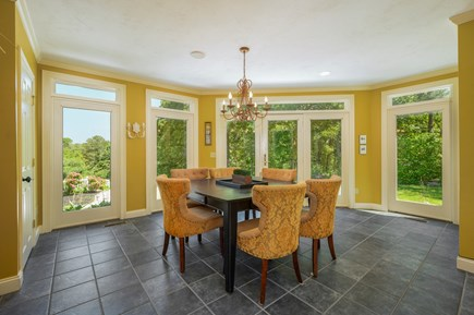 Barnstable Cape Cod vacation rental - Dining/game area