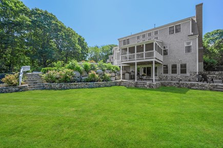Barnstable Cape Cod vacation rental - Back of house/backyard