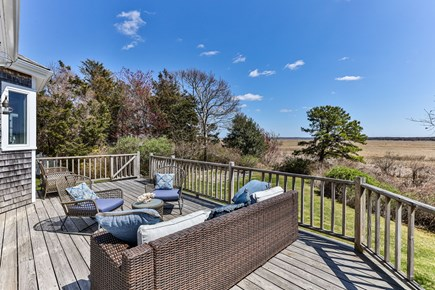 West Barnstable Cape Cod vacation rental - Back deck