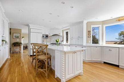 West Barnstable Cape Cod vacation rental - Gourmet designer kitchen with sprawling marsh views