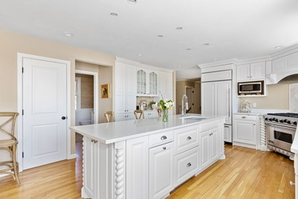 West Barnstable Cape Cod vacation rental - Expansive kitchen Island
