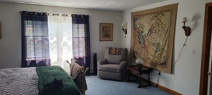 Truro Cape Cod vacation rental - The large bedroom has a quiet corner to read/escape to