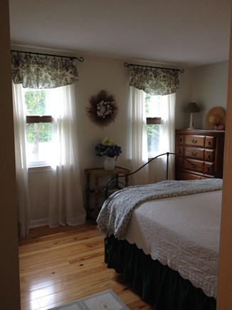 Falmouth Cape Cod vacation rental - Master Bedroom has 2 night stands and large closet