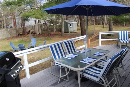 Yarmouth Cape Cod vacation rental - Deck and back yard