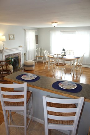 Yarmouth Cape Cod vacation rental - Kitchen area facing the kitchen table.