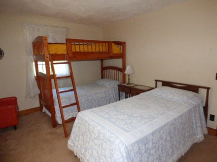 Dennis Cape Cod vacation rental - Bedroom on 1st floor with twin and bunks