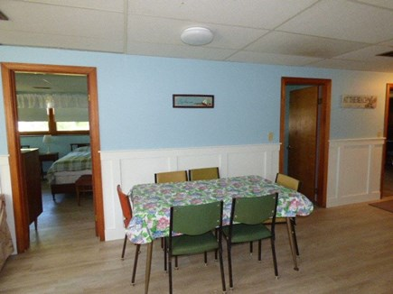 Dennis Cape Cod vacation rental - Dining table in Bottom level