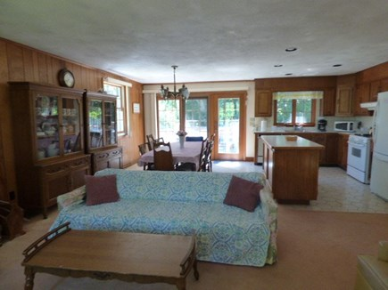 Dennis Cape Cod vacation rental - Living room looking out into the dining room