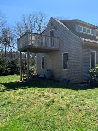 Eastham ocean side Cape Cod vacation rental - View of side yard.