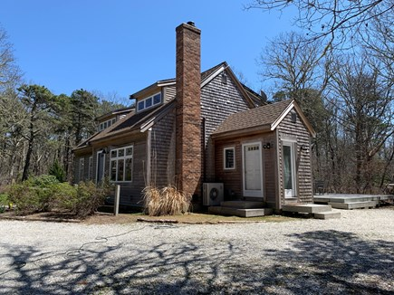 Eastham ocean side Cape Cod vacation rental - Side view of home