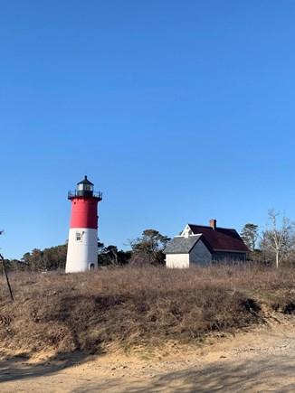Eastham ocean side Cape Cod vacation rental - Nauset Light.