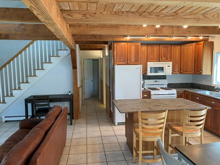 Eastham ocean side Cape Cod vacation rental - View of kitchen as you walk into the house.