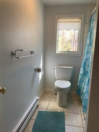 Eastham ocean side Cape Cod vacation rental - 1st floor bathroom.