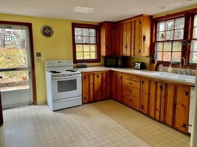 Wellfleet Cape Cod vacation rental - Fully equipped knotty pine kitchen