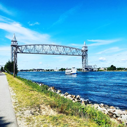 Bourne, Gray Gables Cape Cod vacation rental - Canal Walking Trail
