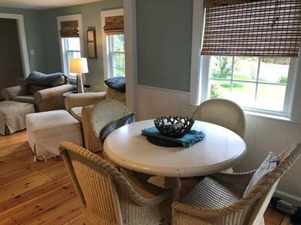 Bourne, Gray Gables Cape Cod vacation rental - Dining Area