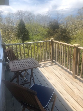 Eastham Cape Cod vacation rental - 3rd Lvl Deck w/ Bistro set for Fabulous Sunrise and Sunset Views.
