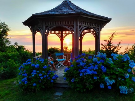 Brewster Cape Cod vacation rental - The view from your porch and living room