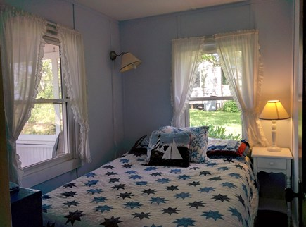 Brewster Cape Cod vacation rental - Cool gel foam double mattress.  bay views and listen to waves