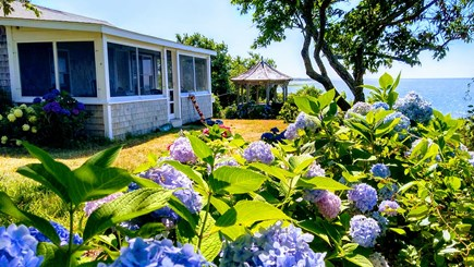Brewster Cape Cod vacation rental - Beach cottage and gazebo