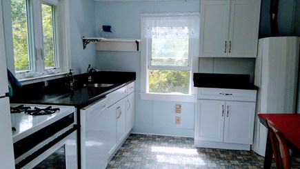 Brewster Cape Cod vacation rental - Full sized frig, stove, microwave, dishwasher