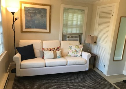 Falmouth Cape Cod vacation rental - Very comfortable living room with 42-inch TV.