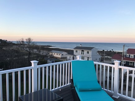 Plymouth MA vacation rental - Sunset from the roof top deck