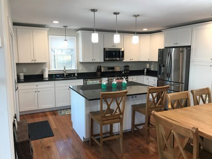 Plymouth MA vacation rental - Bright and airy kitchen and dining area with brand new appliances