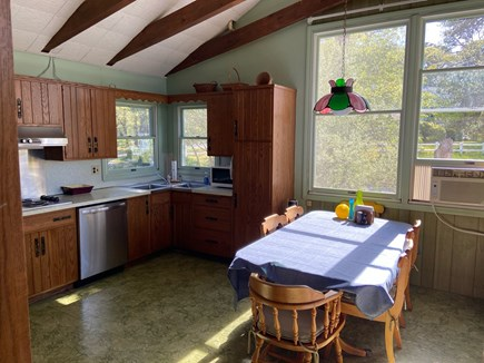 Chatham Cape Cod vacation rental - Kitchen has plenty of space for cooking and meals.