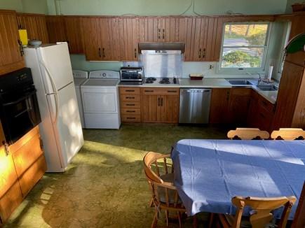 Chatham Cape Cod vacation rental - Kitchen has cooking equipment, washer/dryer,  dishwasher.