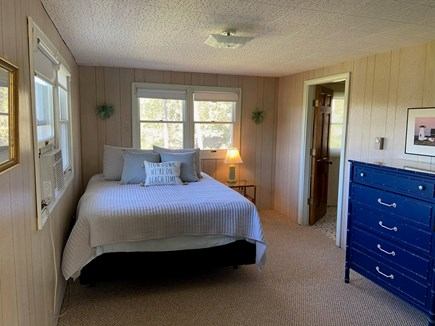 Chatham Cape Cod vacation rental - Master bedroom has queen bed, with bathroom.