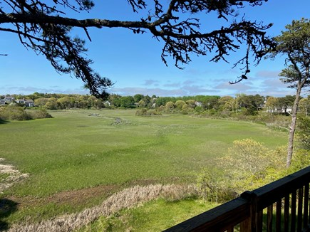 Chatham Cape Cod vacation rental - View of the marsh from the upper deck