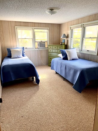 Chatham Cape Cod vacation rental - Lower bedroom with twin beds