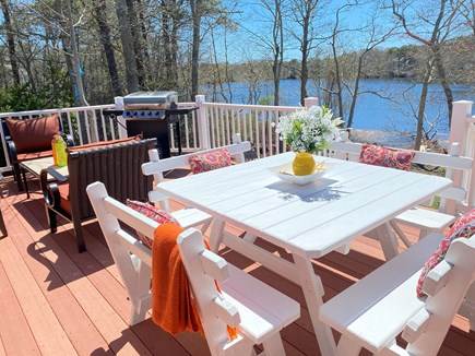 Barnstable, Hyannis Cape Cod vacation rental - The pond is great for kayaking, paddleboarding not for swimming.
