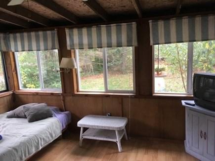 Truro, Seagull Cottage (#9) Cape Cod vacation rental - Enclosed porch